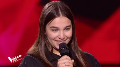 The Voice Kids : Manon chante « Quand on a que l'amour » de Jacques Brel (Team Patrick Fiori)
