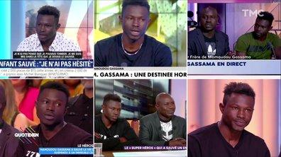 Le marathon média de Mamoudou Gassama