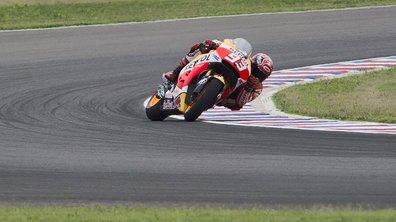 MotoGP Argentine 2015 : Marc Marquez se montre lors des essais 3