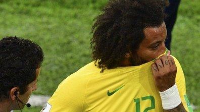 Serbie-Brésil : en pleurs, Marcelo sort sur blessure