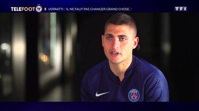 """[EXCLU Téléfoot 14/04] - Verratti : """"Si le club ne veut pas me dégager, je serai au PSG l'année prochaine"""""""