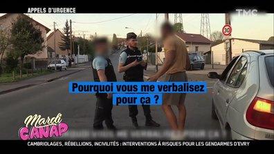 Mardi Canap : vu dans Appels d'urgence, le gendarme qui a mal jugé la carrure d'un conducteur