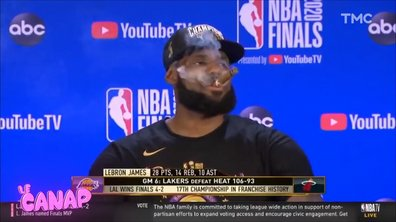 Mardi Canap : le gros cigare de LeBron James en finale de NBA