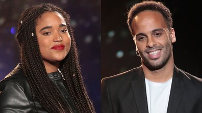 "THE VOICE 2020 - Mareva VS Ryadh chantent ""Mon frère"" de Maxime le Forestier"