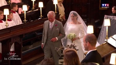 Mariage du Prince Harry et de Meghan Markle : la future mariée accompagnée par le Prince Charles