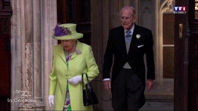 Mariage du Prince Harry et de Meghan Markle : l'arrivée d'Elisabeth II