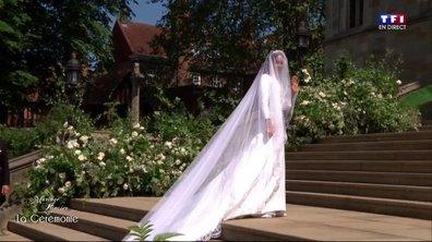 Mariage du Prince Harry et de Meghan Markle : l'arrivée de la future épouse à la chapelle Saint-George