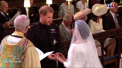 Mariage du Prince Harry et de Meghan Markle : l'échange des alliances