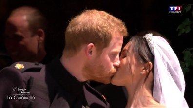 Mariage du Prince Harry et de Meghan Markle : la sortie des mariés