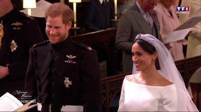 Mariage princier : le fou rire du prince Harry et de l'assistance au moment du consentement