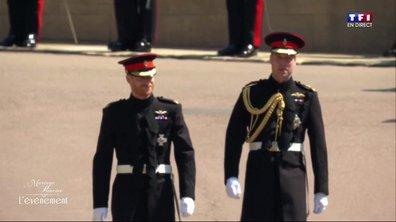Mariage Princier : l'arrivée des Princes Harry et William