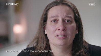 Marie se confie sur le harcèlement scolaire, qui a tué sa fille