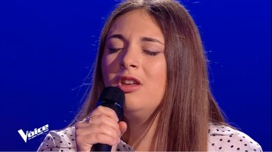"The Voice 2021 - Marina Battista chante ""Never enough"" de Loren Allred"