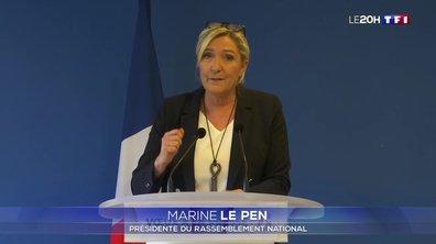 Marine Le Pen candidate... à l'élection présidentielle