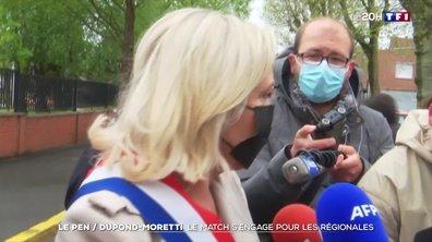 Marine Le Pen / Éric Dupond-Moretti : le match s'engage pour les régionales