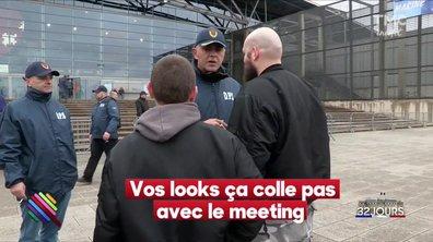 Marine Le Pen - Dress code obligatoire pour assister au meeting
