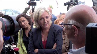 Marine Le Pen fait sa rentrée (et tout ne s'est pas vraiment passé comme prévu)