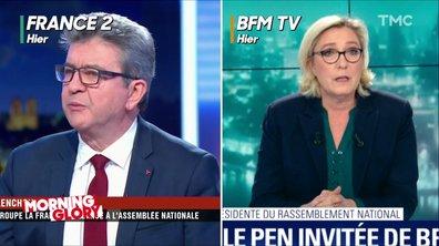 Marine Le Pen et Jean-Luc Mélenchon : les extrêmes se rejoignent-ils ?