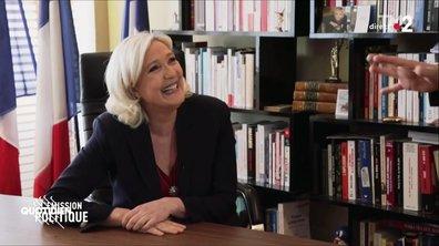 Marine Le Pen dans l'Émission politique : extraordinaire moment de spontanéité