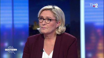 Marine Le Pen: l'hôpital, la charité, tout ça…