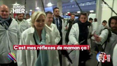"""Le fait du jour : Marine Le Pen est une maman """"comme les autres"""""""