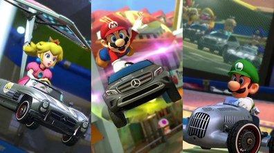 Les Mercedes-Benz de Mario Kart 8