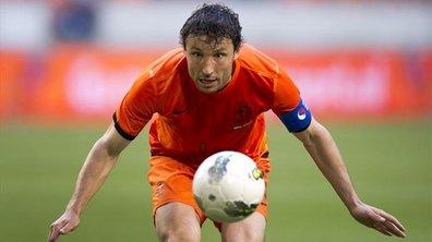 """Euro 2012, Pays Bas - Danemark : van Bommel est """"sans voix"""""""