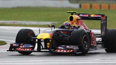 F1 essais Silverstone : Webber domine la pluie et Schumacher