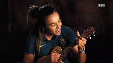 Marta la star brésilienne a aussi des talents de chanteuse !