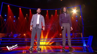 The Voice 2021 – Marvin VS Wahil chantent « L'envie d'aimer » de Daniel Lévi