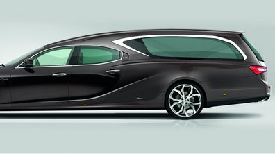 Insolite : une Maserati Ghibli transformée en corbillard