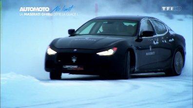 No Limit : La Maserati Ghibli S Q4 sur circuit... de glace