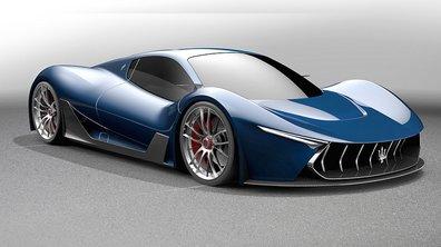 Un designer imagine une fantastique Maserati MC-63