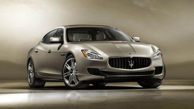 Nouvelle Maserati Quattroporte 2013 : le raffinement pour Détroit