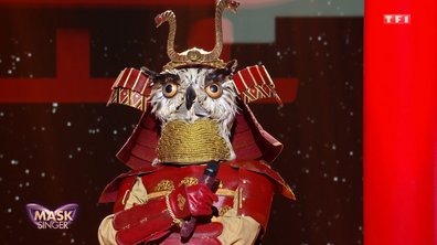 Mask Singer - Hibou chante « Rolling in the deep » d'Adele