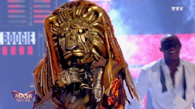 Mask Singer - Lion chante « Pas de boogie woogie » d'Eddy Mitchell
