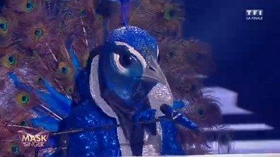 Mask Singer - Paon chante « La groupie du pianiste » du Michel Berger