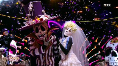 Mask Singer - Squelette chante « Wake me up before you go-go » de Wham!