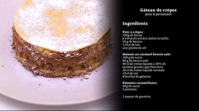 Masterchef - Astuce n°3 : La recette du gâteau de crêpes en vidéo