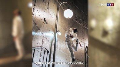 Mathieu Forget, un athlète et artiste en apesanteur