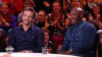 Invité - Mathieu Kassovitz et Souleymane M'Baye échangent les coups dans Quotidien