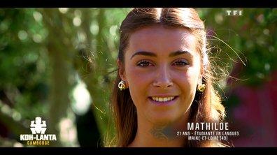 Qui est Mathilde, nouvelle aventurière de l'émission ?