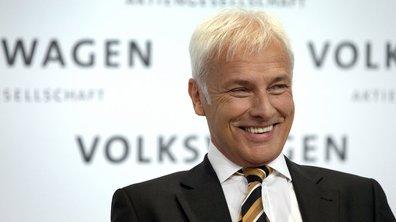 Matthias Müller nommé nouveau PDG de Volkswagen