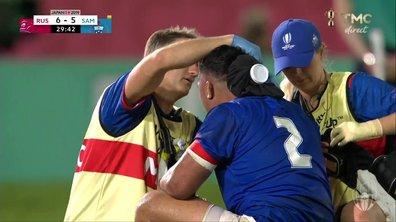 Russie - Samoa (6 - 5) : Voir le double KO en vidéo