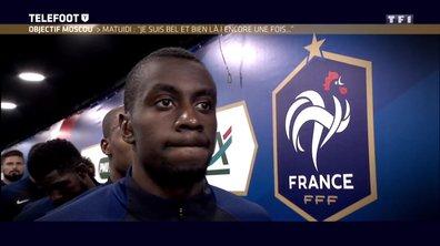 """[EXCLU Téléfoot 07/01] - Coupe du monde 2018 / Matuidi : """"La France peut être championne du monde, elle a l'effectif pour"""""""