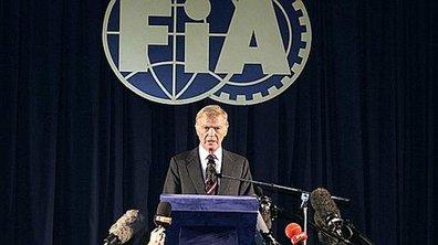 Max Mosley quitte la présidence de la FIA