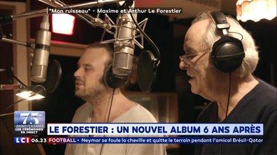 Maxime Le Forestier : un nouvel album six ans après
