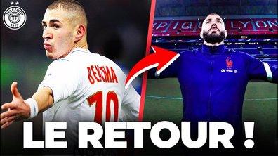 Benzema fait son GRAND retour à Lyon... avec les Bleus ! La Quotidienne #917