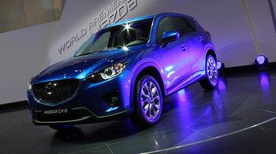 Salon de Francfort 2011 : Mazda CX-5, nouveau venu chez les SUVs
