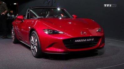 Mazda MX-5, l'atout plaisir - Mondial de l'Automobile 2014